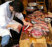 Eel Restuarant - Narita Japan by Paul Gilbert
