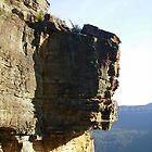 Suspended Rock, Katoomba, Blue Mountains by Jessica Bawden