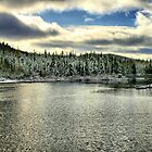 Winter Lake by terrebo
