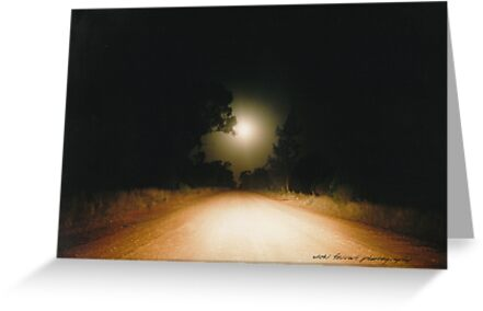 Moonrise on Melrose © Vicki Ferrari by Vicki Ferrari