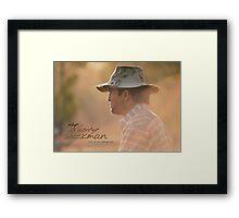 Marlboro Man © Vicki Ferrari Photography Framed Print