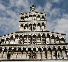 Lucca, Italy church by Stephanie  Wiese