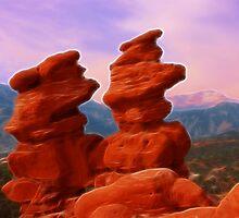 Twin Rocks by Beverly Lussier