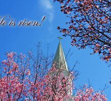 In anticipation of Easter . . . He is Risen! by Bonnie T.  Barry