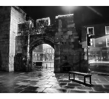 Sitting by the gateway Photographic Print
