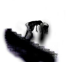 Down the Stairs by EvieVictoria