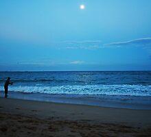 Moonlight Fishing by Evita