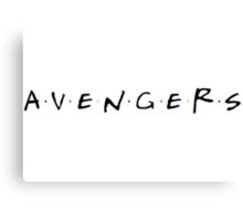 Avengers/Friends Canvas Print