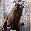 gargoyle in bayeaux by blhudson101