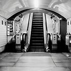 London Tube escalator by yaytractor