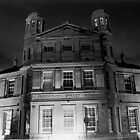 Torphichen Street School at night by yaytractor