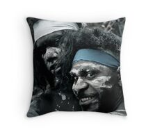 what a smile Throw Pillow
