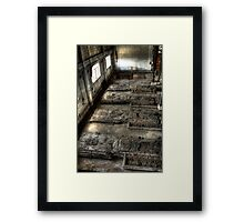 Tomb of the Unknown Machinery. Framed Print