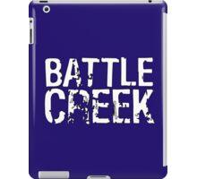 Battle Creek - White iPad Case/Skin