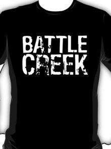 Battle Creek - White T-Shirt