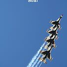 Thunderbirds!  Happy Birthday Son! by Linda Jackson