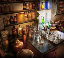 Pharmacist - A little bit of Witch Craft by Mike  Savad