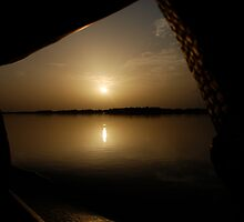 Sunset on the Niger 2 by Jgirl