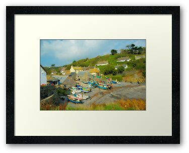 Cadgwith Cove by Catherine Hamilton-Veal  ©