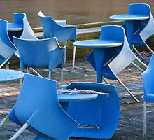 tables and chairs dancing by ingrid froelich