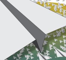 Paper Airplane 109 Sticker