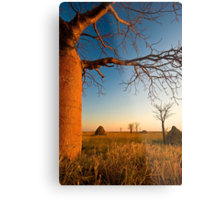 Where Time Expands Metal Print