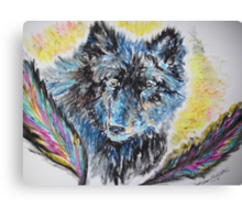 People of the Wolf Canvas Print