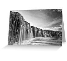 Waterfall Reef Greeting Card