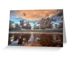 Cable Beach Cloudscape Greeting Card