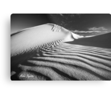 Rippled Metal Print