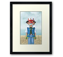 The Son of Pokemon Framed Print