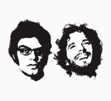 Jemaine & Bret by tastypaper