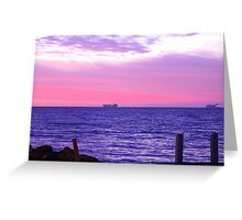 Two Tankers! Greeting Card