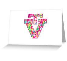 VT Logo--Lulu Print Greeting Card