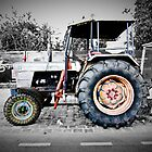 berlin hippy tractor by mark burban