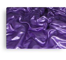 Purple Satin Canvas Print
