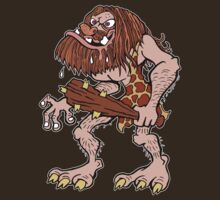 Prehistoric Caveman by Ross Radiation