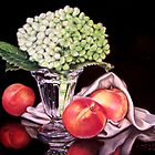 Late Summer Peaches by Catherine  Burke