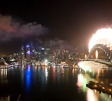 Sydney New Years Eve 2008 by Lucas Boyd