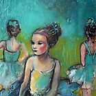 Three Ballerinas by Maria Pace-Wynters