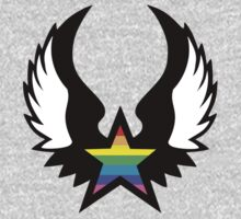 winged rainbow starz (small) by chromatosis