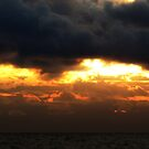 Sunrise Over Lake Michigan by Jarede Schmetterer