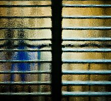 blue in my window by Victor Bezrukov