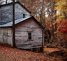 Old Mill by blutat2