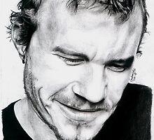 Heath Ledger by Candace Wiebe-Nesbit