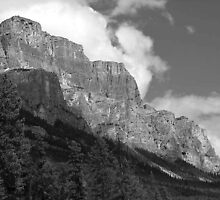 Castle Mountain by jrier