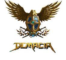 Demacia logo by pejino