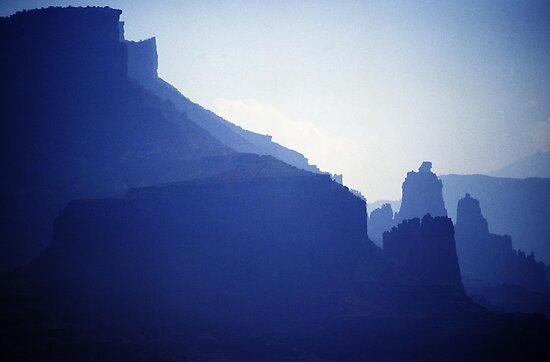 Castle Valley Silhouette by Brian Hendricks