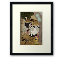 The Lost Boys and the Wandering Princess Framed Print