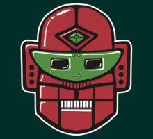 Retro Robot Head by Artberry